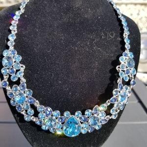 NWT Givenchy swarovski crystal necklace
